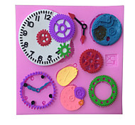 Clock/ Watch Type Candy Fondant Cake Molds  For The Kitchen Baking Molds