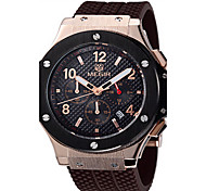 MEGIR® Men's  Silicone Band 30M Water Resistant Dress Watch Jewelry Fashion Wrist Watch Cool Watch