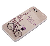 Bike Pattern Take Pictures Fill Light PC Back Case for iPhone 6/6s/6 Plus/6s Plus