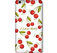 le niveau d'huile de concaves et convexes cas de reliefs de fruits 6s iphone 6 / iphone / 6s iphone 6 plus / iphone et plus,