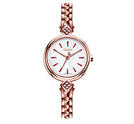 Julius® Fashion Special Design Dial Women Watch Stainless Steel Waterproof Quartz Watch JA-881