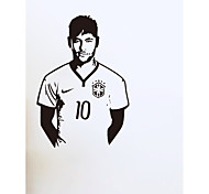 Soccer Football and Famous Soccer Players Wall Stickers Home Decor Wall Decal For Kids Room Sport Boy Bedroom