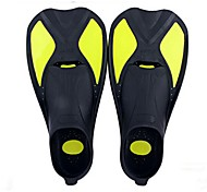 Diving Fins Diving / Snorkeling / Swimming silicone Red / Yellow / Blue
