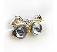 Women's Cute style Little Black Swan Earrings 01