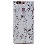 TPU Material Marble Pattern Slim Phone Case for Huawei P9 Lite/P9