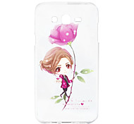 Samsung Silicone Protective Cover Painted Cartoon Package for Galaxy J7