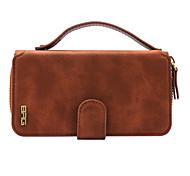 Portable separating zipper wallet suitable for iphone 6/6s/6plus/6s plus