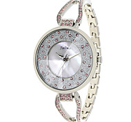 Julius  Watch Fashion Vogue Women Watch Rhinestone Design Waterproof Schoolgirl Leather Belt JA-389