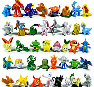 Pokemon Action Figures 144Pcs Cute Monster Mini Figures Toys Best Christmas&Birthday Gifts 3cm