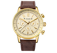 Julius® Korea Fashion Vogue Multifunction Leather Belt Waterproof Quartz Men Watch JAH-094 Wrist Watch Cool Watch Unique Watch