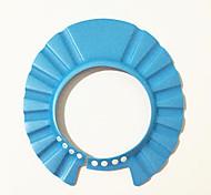 escudo de pelo La colada del sombrero del casquillo de ducha del baño del casquillo del champú de bebé ajustable niños