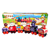 Section 6 Magnetic Bread Duperman Dmall Train, Wooden Toys Magnetic Bread Little Train