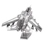 Puzzle 3D Modellini di metallo per il regalo Costruzioni Modellino e gioco di costruzione Combattente 14 Anni e oltre Giocattoli