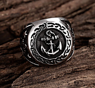Cross Restoring Ancient Ways is Exaggerated Stainless Steel Men's Ring