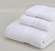 Multicolor Solid Cotton Fabric Bath Towel Set. Wash Towel+Hand Towel+Bath Towel