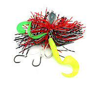 1pcs 40g  Beards Lure Fishing Bait Random Colors