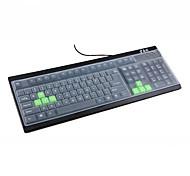 5pcs silicone universale computer desktop polvere / tastiera di prova copre 44.5 * 13cm
