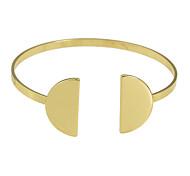 Plated Open Cuff Bracelet