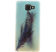 Feathers Painting Pattern TPU Soft Case for Samsung Galaxy A7(2016)A710/A5(2016)A510/A3(2016)A310/A5/A3