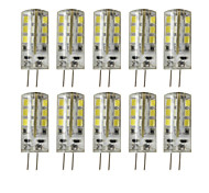 5W G4 2-pins LED-lampen T 24 SMD 2835 450 lm Warm wit / Koel wit Decoratief DC 12 V 10 stuks