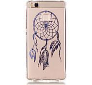 TPU Material Dreamcatcher Pattern Bronzing Phone Case for  Huawei  P9 Lite/P9/ P8 Lite