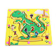 Wooden Magnetic Pen Beads Maze(Dinosaur)
