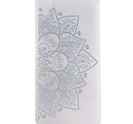 Para Funda Sony / Xperia Z5 Congelada Funda Cubierta Trasera Funda Mandala Suave TPU para Sony Sony Xperia Z5 / Sony Xperia Z5 premium