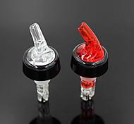 1PCS 1 oz Measured Bar Household Whisky Liquor Pour Free Flow Spout Wine Pourer(Random Color)
