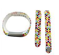 Smart Strap Bracelet Colorful Printing Silicone Bracelet For Fitbit Alta(18)