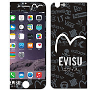 Black And White Low Trend Before And After Tempered Glass Film for iPhone 6/6S/6 Plus/6S Plus