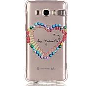 Colorful Stick Pattern TPU Popular Brands Calling Flash Case Cover For Samsung Galaxy J7 (2016) / J5 (2016) / J1 (2016)