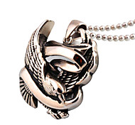 Peace Messenger Pendant Jewelry Fashion Mens Dove Teaser Necklace