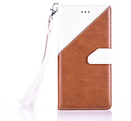 High-End Color Stitching Card Lanyard Phone Holster for Huawei P9/P9 Lite