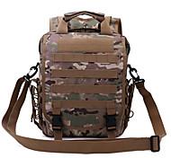 30 L zaino / Zaino per escursioni Campeggio e hiking All'aperto Impermeabile / Multifunzione Verde militare Antistrappo