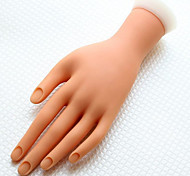 Manicure Tools Silicone Fake Hand To Practice Paint Nail 1 Piece