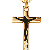 Pendants Metal Cross Shape Gold 20