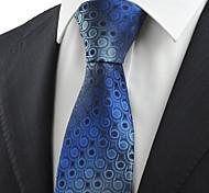 Cravate Vintage / Mignon / Soirée / Travail / Décontracté Rayonne / Coton / Polyester,Homme Géométrique Toutes les Saisons