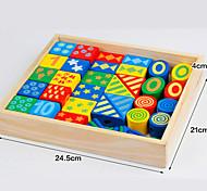 Cartoon Wooden Bead Block Toy