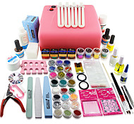 125 pcs Colorful Professional Manicure Tools 1 Set