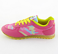 Velvet Rubber Sweet Candy Color Stitching Woman Casual Shoes