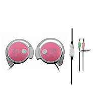 SALAR K31 Headphones (Earhook)For Media Player/Tablet / Mobile Phone / ComputerWith  Microphone / DJ / Volume Control