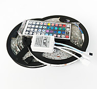 ZDM™ 10M 150X5050  Waterproof SMD RGB LED Strip Light and 44Key Remote Controller and1BIN2 Connecting line(DC12V)