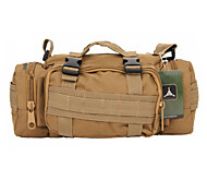 10 L Backpack Multifunctional Army Green Oxford