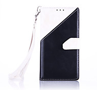 High-End Color Stitching Card Lanyard Phone Holster for Samsung Galaxy G530/G360
