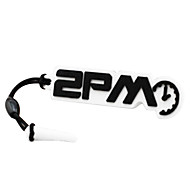 2PM LOGO Mark Phone Dust Plug