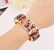 Fully Crystal Cuff Bracelets