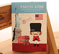 South Korea Stationery European Retro Building Small Pocket Stitching This Lovely Gift Book Notepad