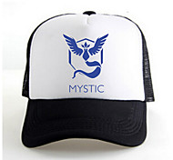 Hat/Cap Inspired by Pocket Monster Ash Ketchum Anime Cosplay Accessories Cap / Figure White / Black Charmeuse Male / Female