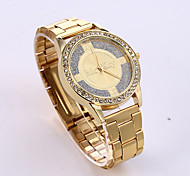 Unisex European Style Luxury Fashion Shiny Rhinestone Quartz Wrist Watch