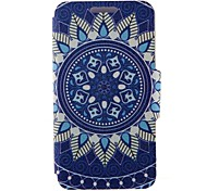 SZKINSTON® Blue Totem Pattern Full Body Leather with Stand for Huawei P9/P9 Plus/P9 Lite/G9 and Huawei Honor 4X/3C